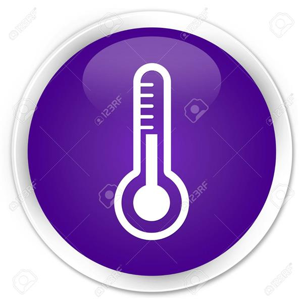 purple thermometer